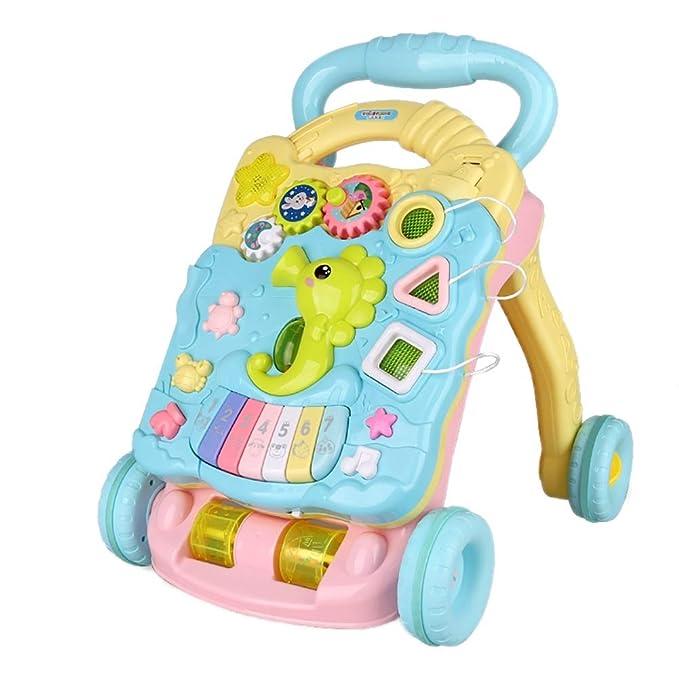 GUO@ Seahorse Baby Toddler Cart Walker Andador de velocidad ...