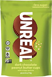 product image for UNREAL Dark Chocolate Crispy Quinoa, Peanut Butter Cups, 3 Bags