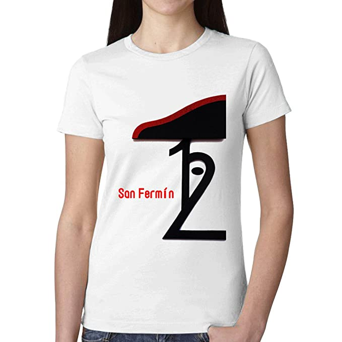 SanFe Ropa Camisetas Personalizadas Running New Tee SS - Camiseta de 2016 Pamplona San Fermin de