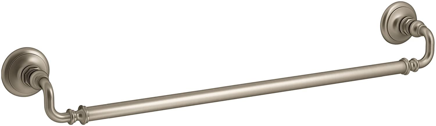 Vibrant Brushed Bronze KOHLER K-72568-BN Artifacts 24 In. Towel bar, Vibrant Brushed Nickel