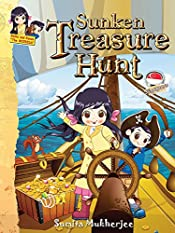 Sunken Treasure Hunt  - Singapore: Thrilling adventure story for kids 6-12 years (Keiko and Kenzo Adventure Series)