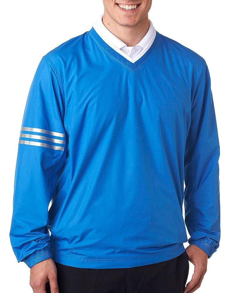 Gulf  Gulf 3XL adidas Men's Climalite color Block V-Neck Windshirt