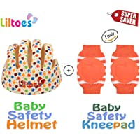 Liltoes Baby Safety Helmet & Kneepad Combo (LCHK01)