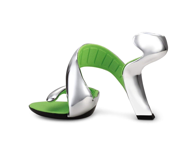 Silver Snake High Heels Sandals Gladiator Silver Summer Ladies Pumps Platform Sexy Wedding shoes White