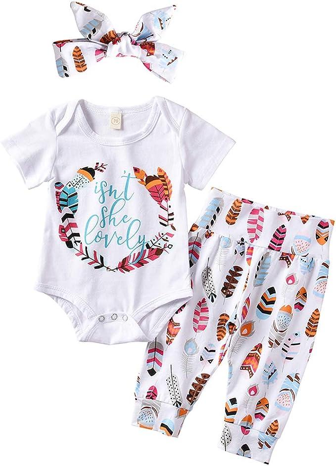 Amazon.com: Bebé recién nacido niña viene a casa traje no es ...