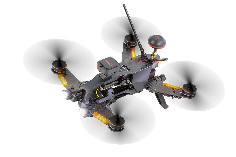 bater/ía OSD /FPV de dron con c/ámara HD Cargador y Control Remoto Devo 7 GPS /Runner 250/Pro Racing de Quadcopter RTF/ Walkera 15004600/