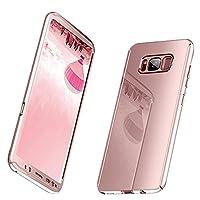 Galaxy S8Funda 3en 1Rígida de PC fina chapado 360a prueba de golpes Funda protectora