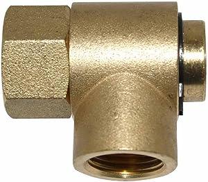 "Interstate Pneumatics HSR90-SWA 1/2"" NPT Female Brass Swivel Assembly For HSR90 Hose Reel"
