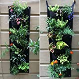 Richoose Vertical Hanging Garden Planter with 7