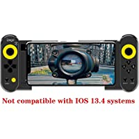 BKYMC Ipega PG-9167 Wireless 4.0 Mobile Games Controller Joystick for GALAXYS10/S10+ NOTE9 Phone XR XS Phone 11 Most iOS/Android Smart Phone Tablet PC (Android 6.0 or, iOS11.0 Higher System)