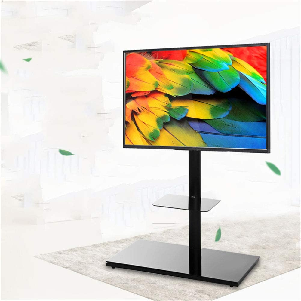 Exing Carro del Soporte de la TV, LCD TV Estante de exhibición del Soporte del Estante móvil Vertical de la exhibición de la Base Soporte Universal del Montaje de la exhibición casera