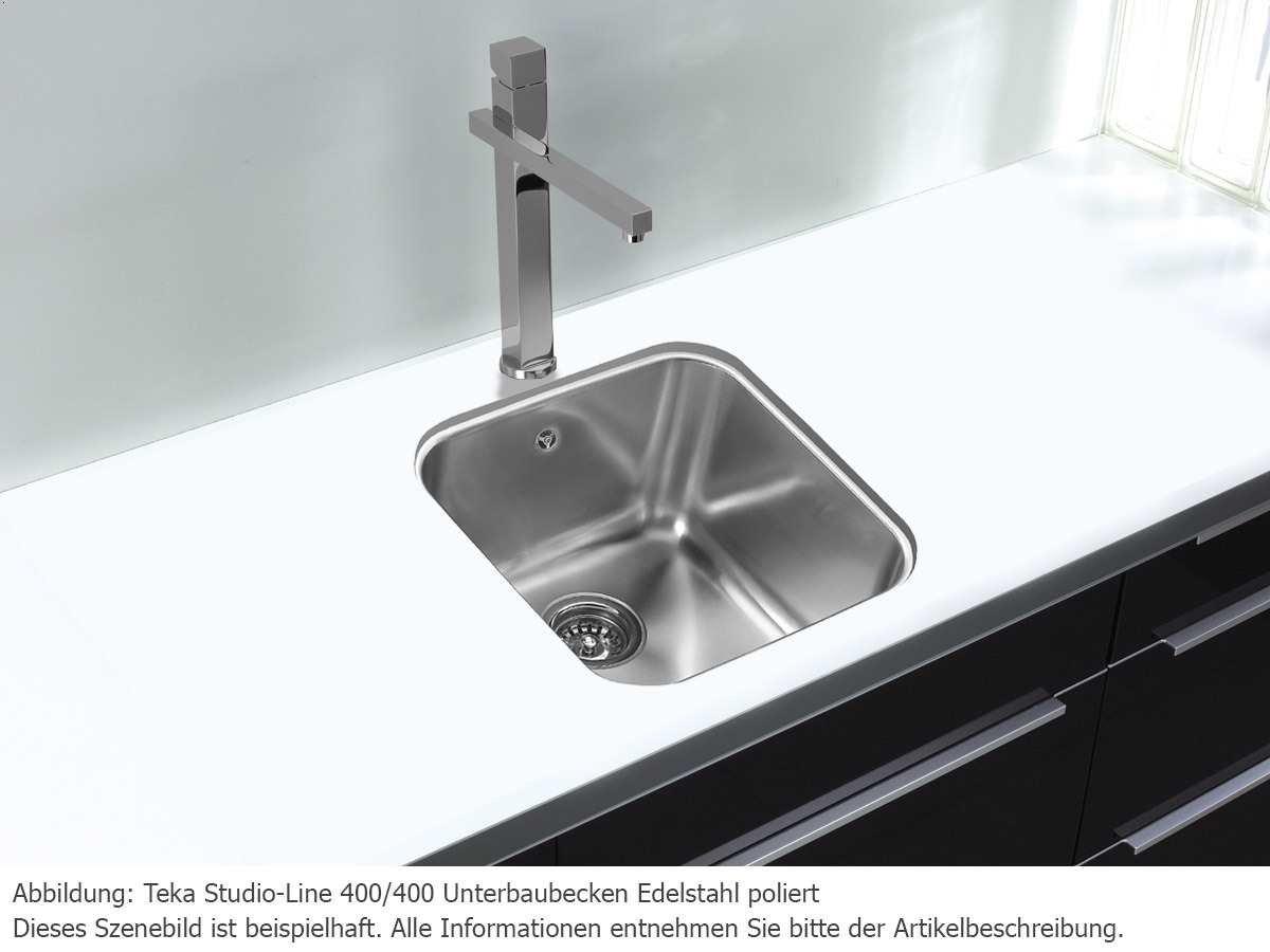 Teka 400-400 Unterbaubecken Studio-Line: Amazon.de: Küche & Haushalt