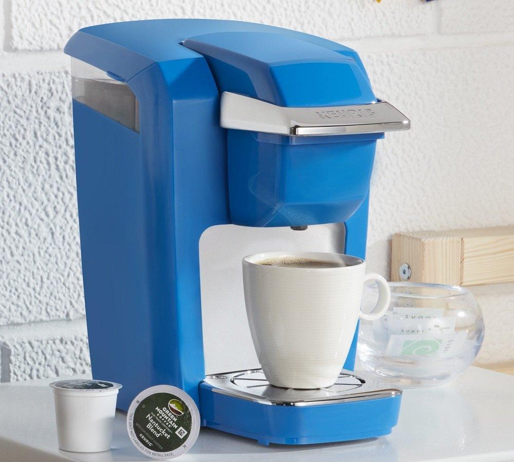 Keurig K15 Single Serve Compact K-Cup Pod Coffee Maker, True Blue by Keurig (Image #7)