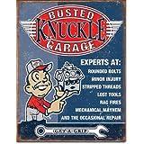 Busted Knuckle Garage Voiture Réparation Garage vélo atelier plaque métal étain signe 1844