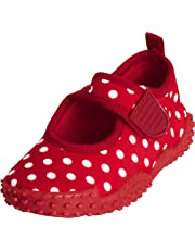 Playshoes Mädchen UV-Schutz Badeschuhe Aquaschuhe Punkte