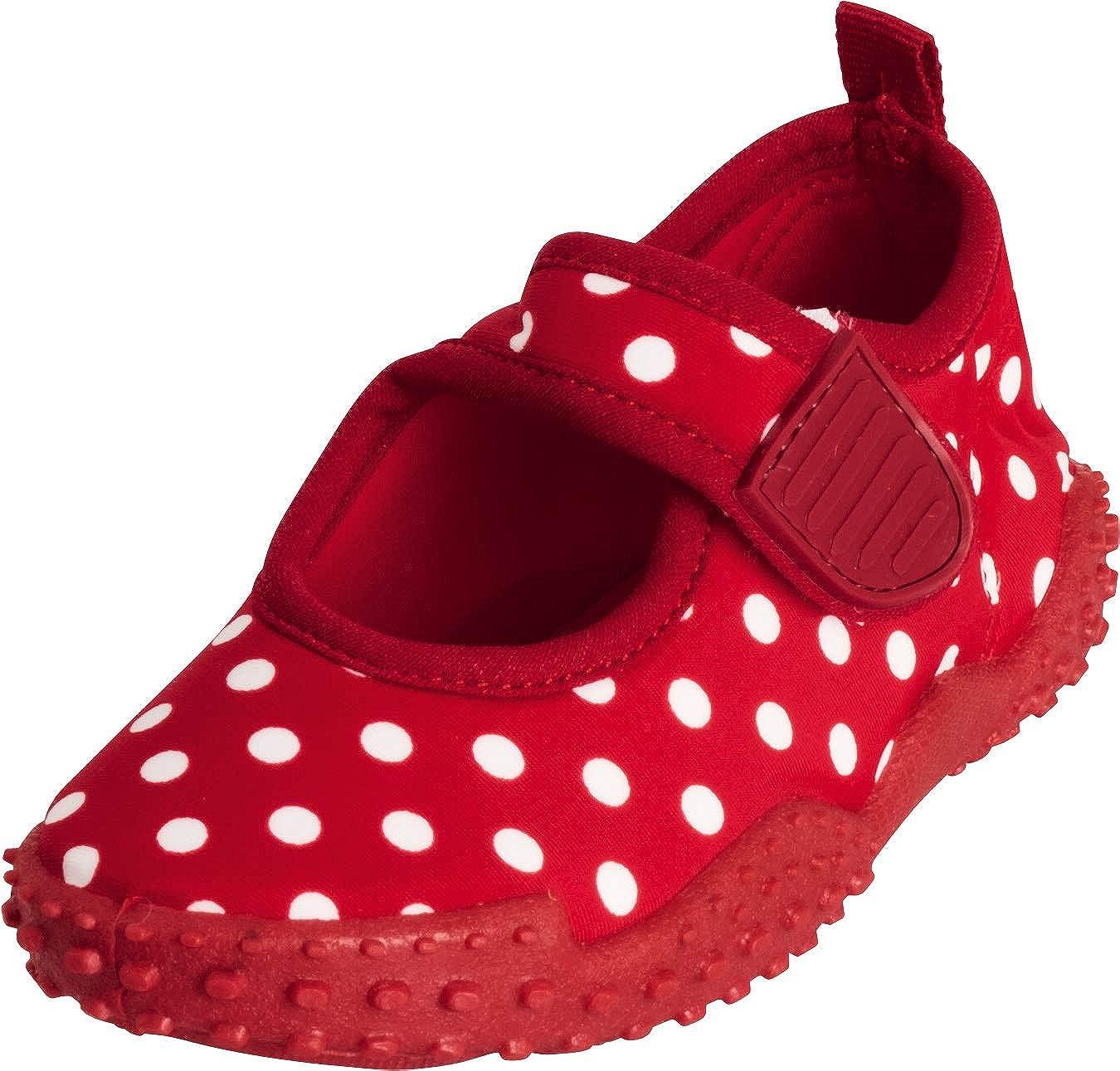 Beach /& Pool Shoes Playshoes Girls UV Protection Aqua Shoe Dots