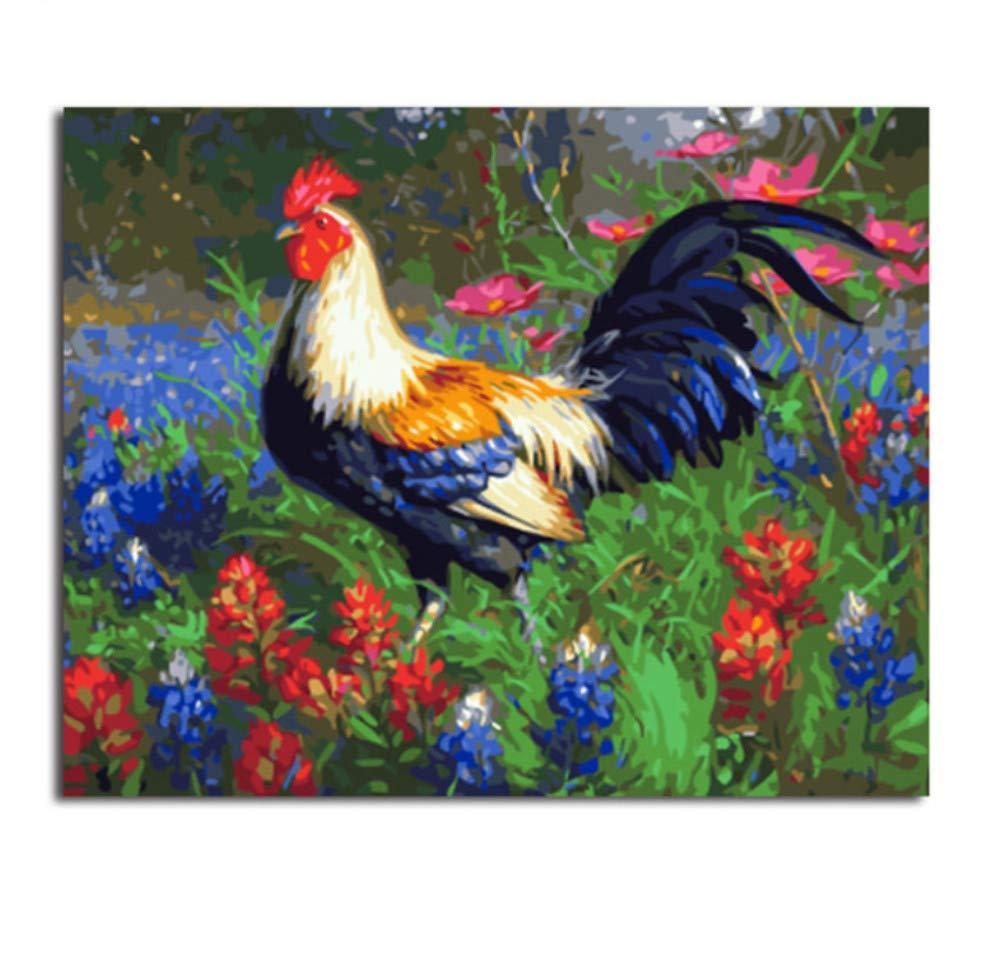 GUOXIN12 DIY digital paintingNo Frame Bild DIY Malen nach Zahlen DIY Digital Canvas Oil Painting Home Decor für Wohnzimmer Wand Art40x50cm B07PNYFW66   Sonderkauf