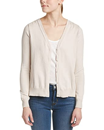 Amazon.com: French Connection Womens Lace-Back Cardigan, M, Beige ...