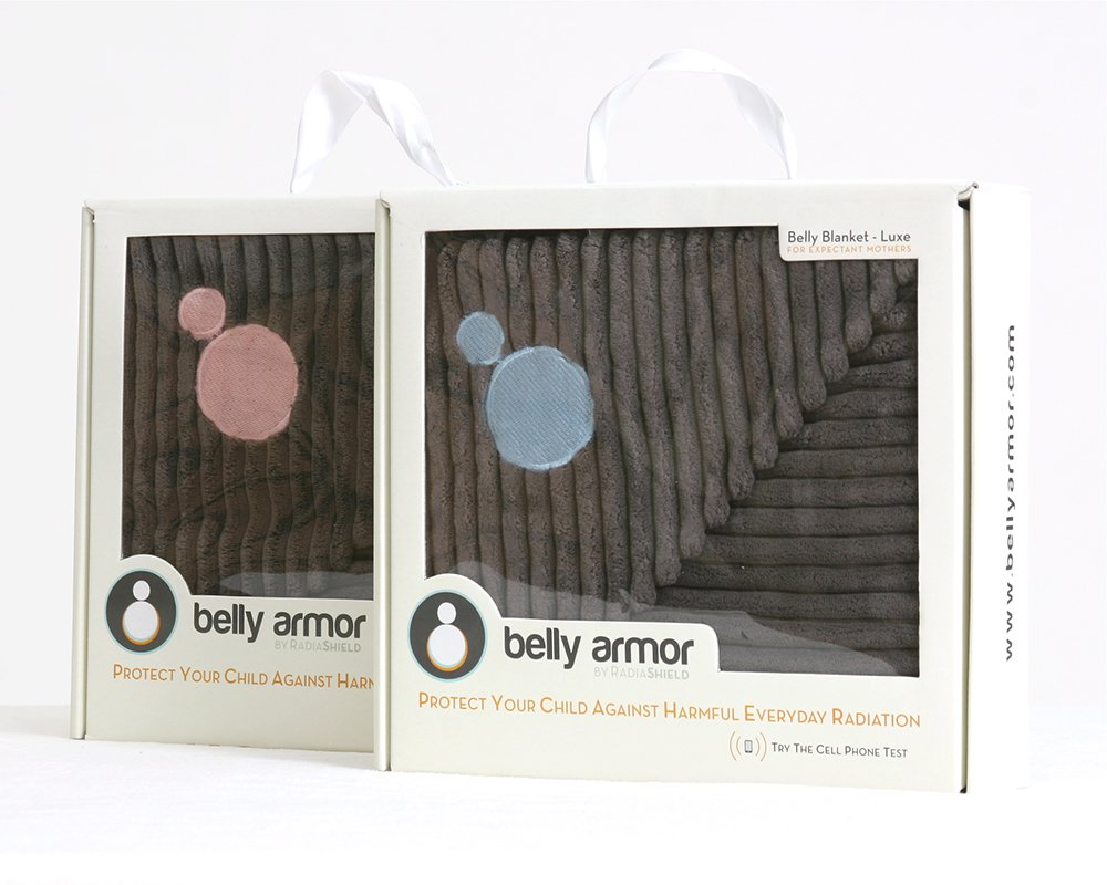 Belly Armor Belly Blanket Luxe - Aqua by Belly Armor (Image #4)
