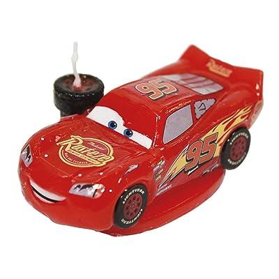 """Dekoback 02-08-00167 'Disney's """"Cars""""' Cake Candle: Home & Kitchen"""