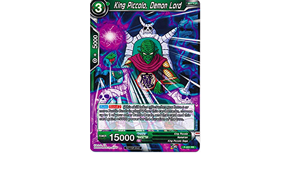 4x King Piccolo Demon Lord - P-051 Foil NM-Mint Promotion Cards