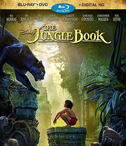 Blu-ray : The Jungle Book (With DVD, Dubbed, Digitally Mastered in HD, 2 Pack, Digital Theater System)