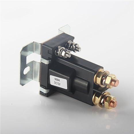 Amazon com: Wanheyao Relay Contactor Double Batteries