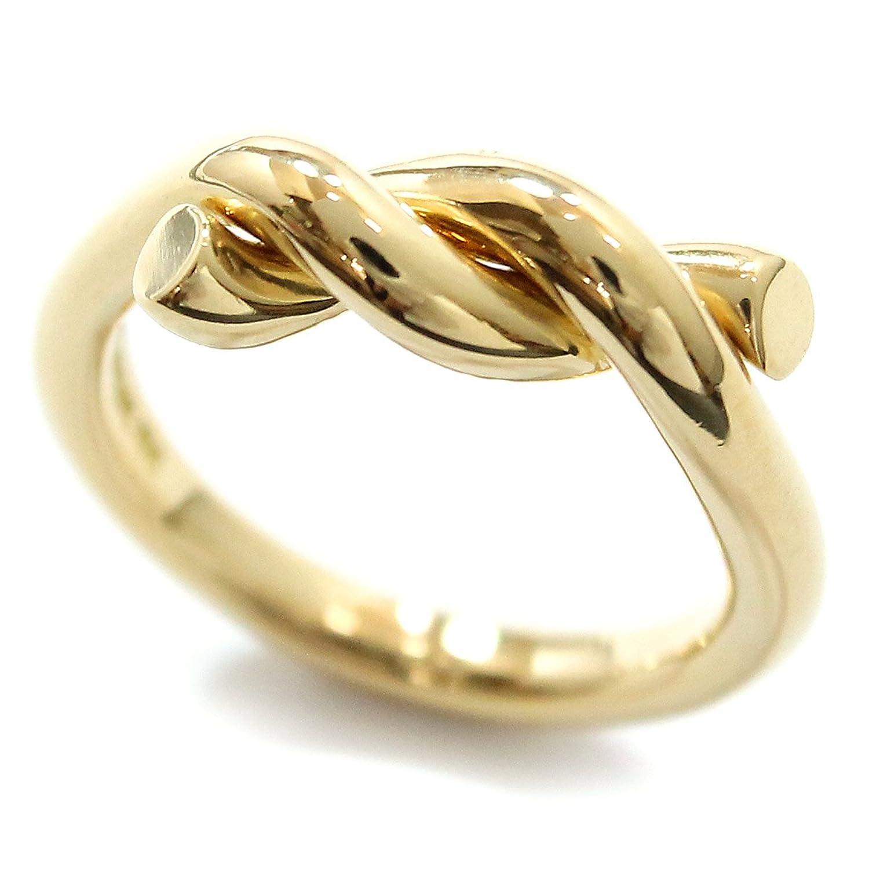 ティファニー TIFFANY&Co. ロープ リング 11.5号 K18YG 18金イエローゴールド 750 指輪 【中古】 90051451 B07F7XG37K