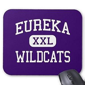 BGLKCS Eureka - Wildcats - High School - Eureka Missouri Mouse Pad