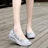 Neartime Women Sport Shoes, Clearance Air Cushion Net Surface Shoes Shallow Shoes Slip Round Toe Outdoor Basic Sneakers