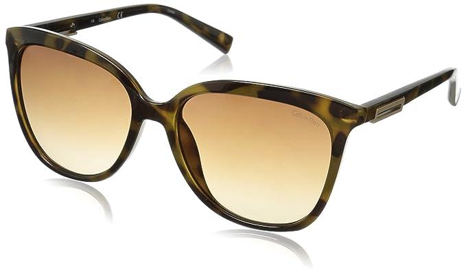 Calvin Klein - Gafas de sol cuadradas R730s Para mujer ...