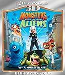 Cover Image for 'Monsters Vs Aliens 3D'