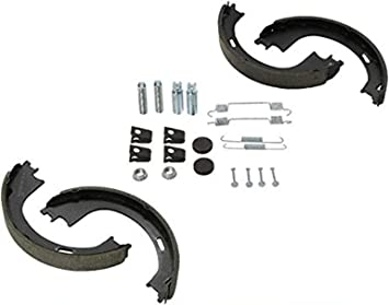 For Ford Expedition F-150 Navigator Rear Semi-Metallic Parking Brake Shoes