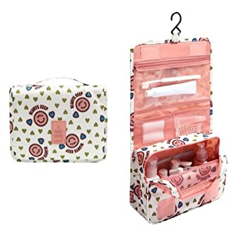 Amazon.com : Travel Waterproof Portable Man Toiletry Bag Women Cosmetic Organizer Pouch Hanging Wash Bags Cute Makeup Neceser Sac Maquillage : Beauty