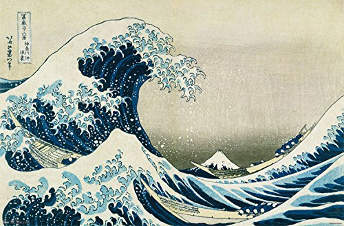 Trends International The Great Wave Wall Poster 22.375' x 34'