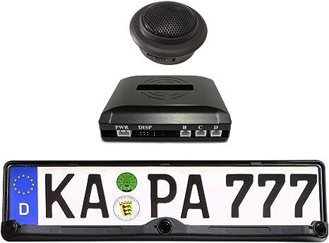 Unbekannt STEP1 RP101 Capteurs de stationnement pour Plaque dimmatriculation