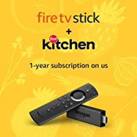 Deals on Amazon Fire TV Stick w/Remote + 1-Yr Food Network Kitchen Subscription