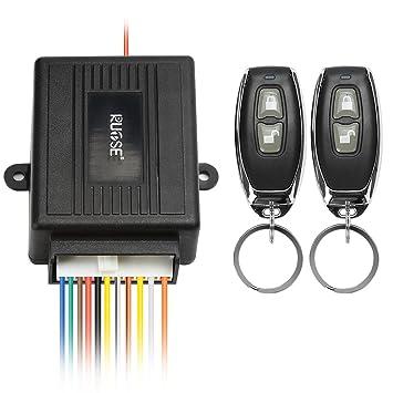 Rupse - Kit de sistema de cierre centralizado con mando a distancia para coche, alarma universal