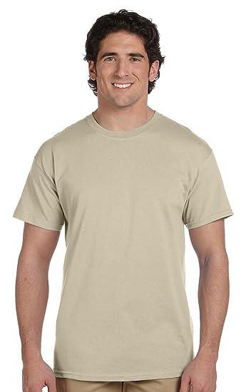 3fdfe8511ea5 Hanes Men's Short Sleeve Tagless T-Shirt   Amazon.com