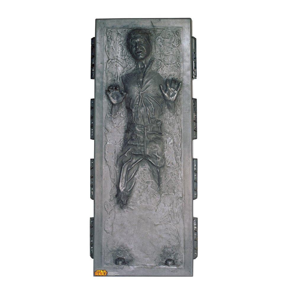Amazon.com: Han Solo In Carbonite   Star Wars Classics (IV   VI)   Advanced  Graphics Life Size Cardboard Standup: Home U0026 Kitchen