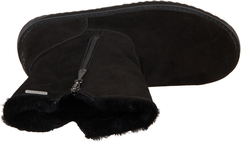 EMU Australia Gravelly - Botas impermeables para mujer, piel de oveja Negro mTmUd