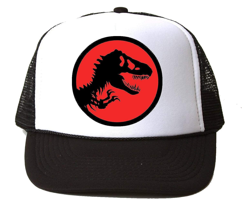 Jurassic Park Dinosaur Red Baseball Cap Hat Gorra Unisex One Size ...