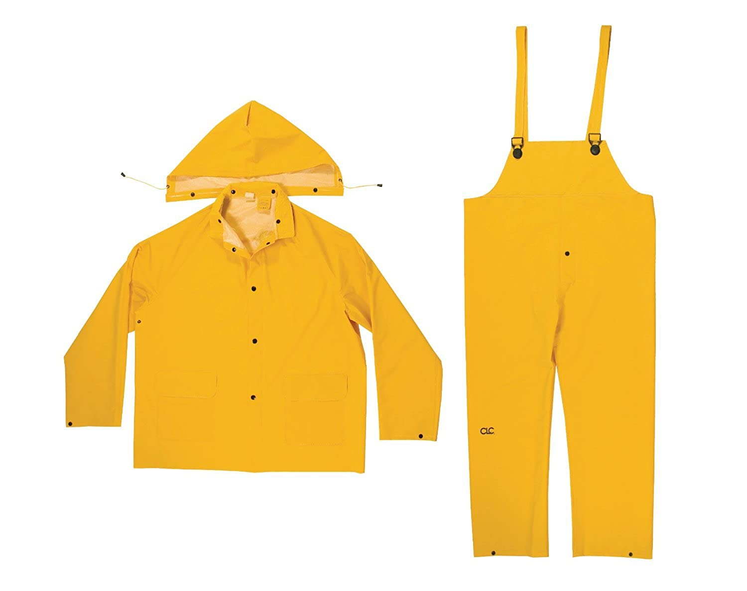 35 Mil Rain Suit - 3 Pieces - in your choice of sizes