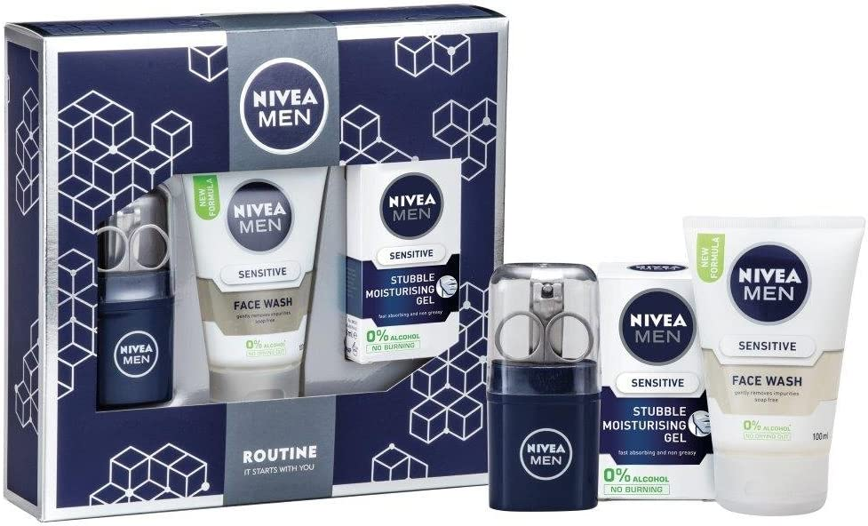 Nivea Men rutinario regalo pack: Amazon.es: Belleza