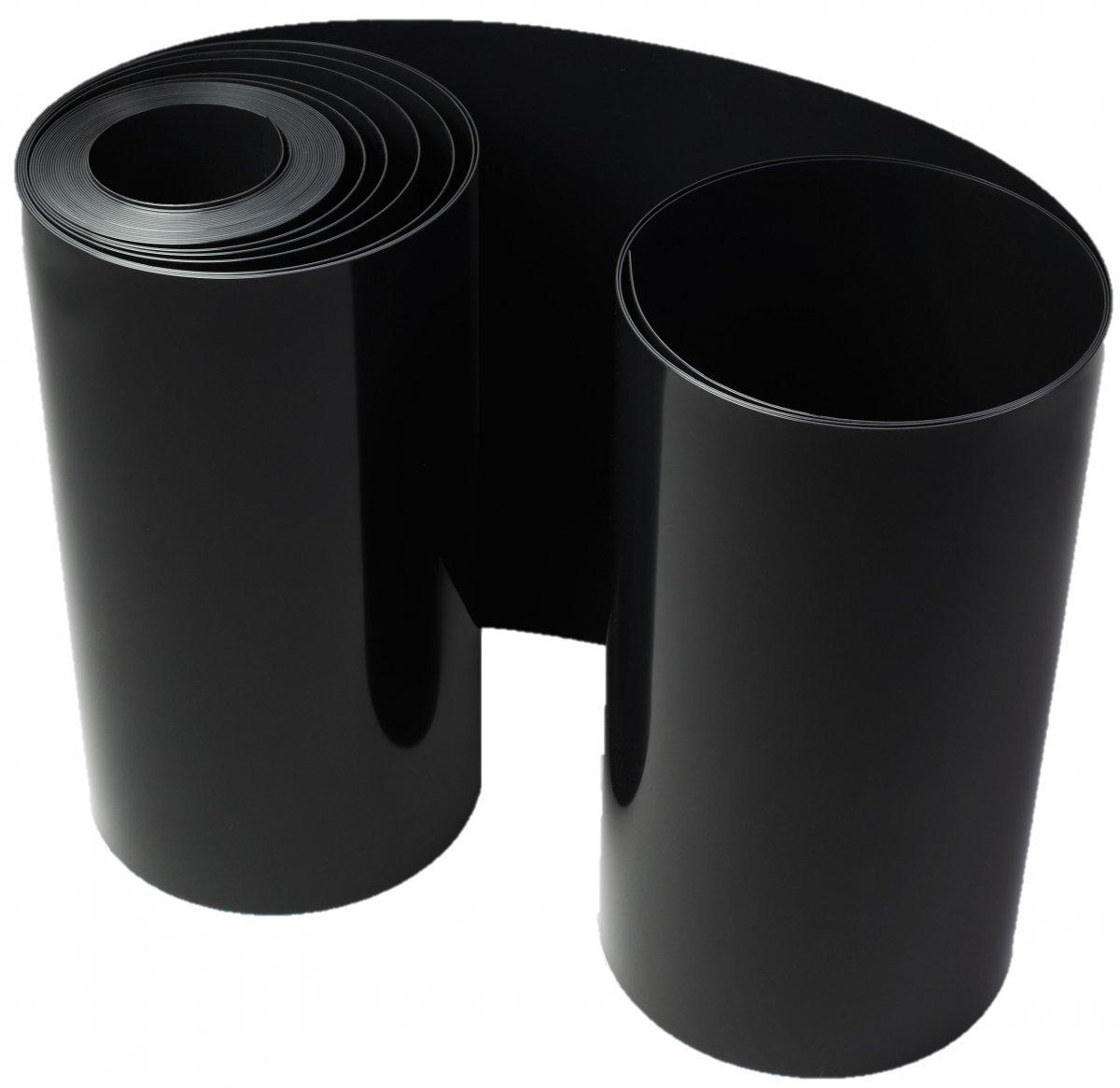 Wurzelsperre / Rhizomsperre schwarz - Stärke: 1 mm - Höhe: 70 cm (25 Meter 5,45 € /lfm)