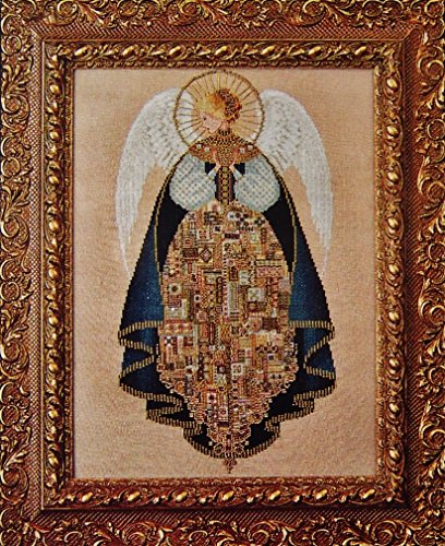 Lavender & Lace Angel of Love Counted Cross Stitch Pattern