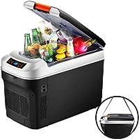 Refrigerador Pequeño para Autos, Mini Nevera Eléctrica 12V/220V