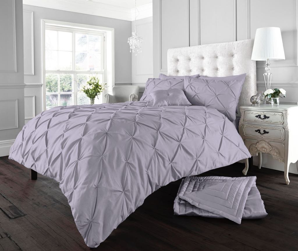 GoldStar/® kaylee Floral Duvet Quilt Cover Polycotton Printed Bedding Set Double Brown