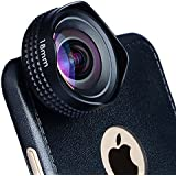 Evileye Professional 18mm Wide Angle Lens HD Camera Phone Lens for iPhone 6 Plus/6s Plus (Capture More Lanscape-No Distortion)