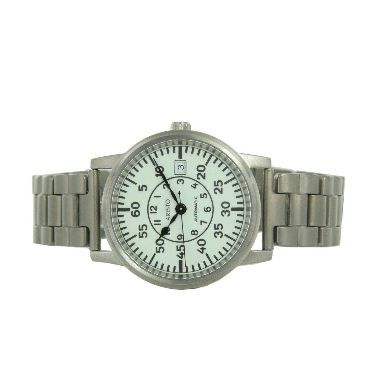 Aristo Men's Watch U-Boot Uhr Automatic Titan 5H92TIB by Aristo